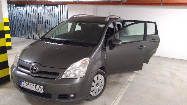 Toyota Corolla Verso 116 Km, D4d, 7 Osobowy.